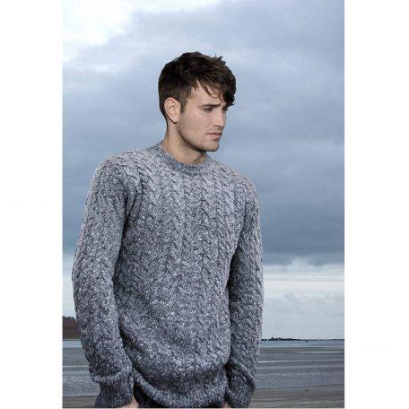Męski sweter z naturalnej wełny