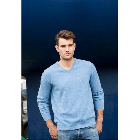 Elegancki wełniany męski sweter